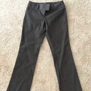 The Limited gray exact stretch pants. Size 4.